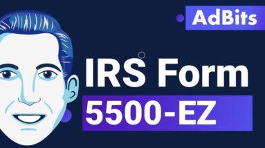AdBits - IRS Form 5500-EZ