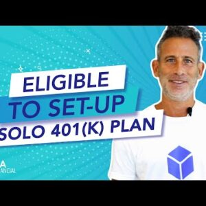 Who is eligible to set up a Solo 401k plan