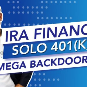 Does the IRA Financial Solo 401 Plan include a Mega Backdoor Roth option