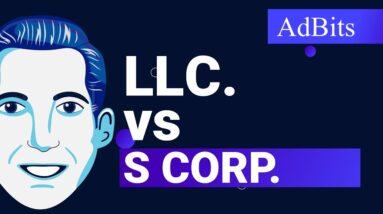 AdBits - LLC vs. S Corp