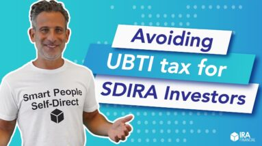 How to Avoid the UBTI tax for SDIRA Investors