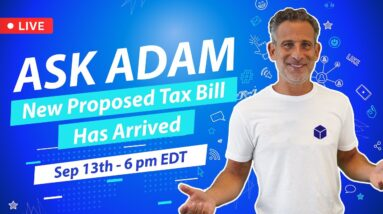 New Proposed Tax Bill Has Arrived
