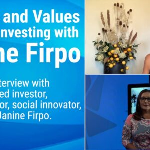 Women and Values-Aligned Investing with Janine Firpo