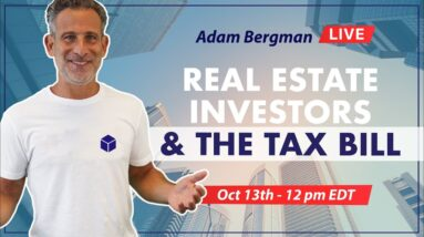 Real Estate Investors and the Tax Bill